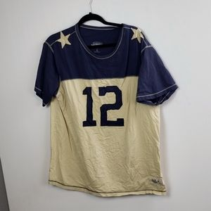 Cowboys Staubach 12 Men's Short Sleeve Top size XL